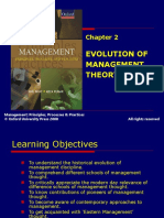 301 33 Powerpoint Slides Chapter 2 Evolution Management Theory