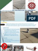 2.0 Deterioros en Pavimentos de Concreto 2019-2