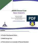 Lecture02_MEMS Design Flow