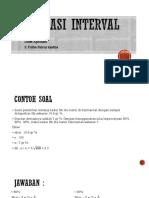 Estimasi Interval Dewi Fidha-1