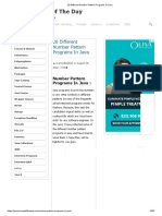 20 Different Number Pattern Programs In Java.pdf
