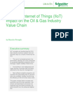 Industrial Internet of Things (IIoT) Impact on the Oil & Gas Industry Value Chain
