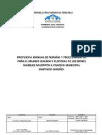 Borrador Propuesta Manual Normas y Procedimientos Bnm 2019