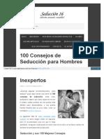 100 Consejos de Seducciòn.pdf