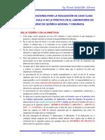 1. Recomendaciones Desarrollo Teoria - Practica Qgyo - Acuicola