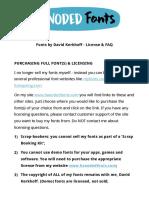 Hanoded Fonts License & FAQ - READ ME!.pdf