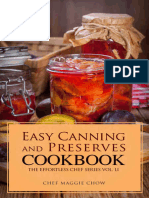 Easy Canning and Preserves Cookbook - Maggie Chow