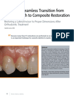 restorasi kelas IV untuk gigi peg shape (microdontia)