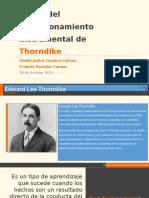 Teoría del condicionamiento instrumental de Thorndike.pptx