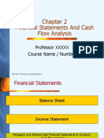 Accounting -- Financial Statements and Cash Flow Analysis - 0324322321_68871