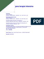 ventilador mecanico UTI