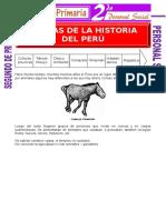 Epoca de La Historia Del Perú Para Segundo de Primaria