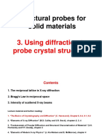 Diffraction to Probe Crystal Structures Structural_Probes