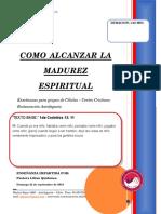 2019 Mes 09 Dia 22 - e. Celulas - Como Alcanzar La Madurez Espiritual - Predica Pastora Lilian Quiñones