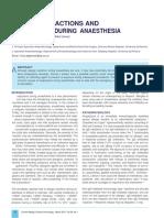 Allergic Reaction During Anasthesia