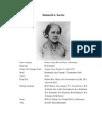 Biodata & Biografi RA Kartini