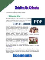 Los 11 Distritos de Chincha 2