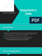 Negotiation Skills presentation