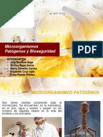 Microorganismos Patógenos y Bioseguridad