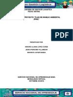 evidencia 6 plan de manejo ambiental