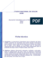 IV Estudio Nacional Dolor 1212438624179533 9 Ppt Share)