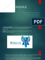 WiMAX - Proiect