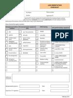 Lab Orientation Checklist Feb2018
