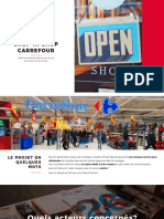 Strada Marketing - Boutique Ephemere Carrefour