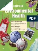 Ch. 8- Environmental Health