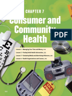 Ch. 7- Consumer and Community Health