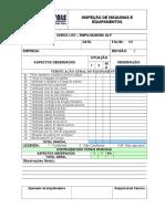 Modelo Check List Empilhadeira - Treina Vale