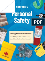 Ch. 5- Personal Safety