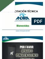 Capacitación Técnica Tendecia de Los Refrigerantes Freon(Tm) y Opteon(Tm)_andira