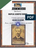 NI MAS NI MENOS. Pasillo. Martín Alberto Rueda. Transc. piano Gerardo Betancourt.
