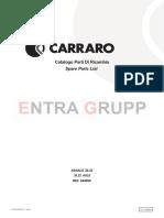 Manual de Partes Carraro 644990