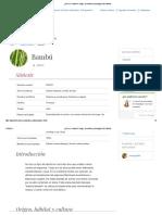 ¿Qué es el Bambú_ Origen, beneficios y posología _ Dieti Natura.pdf