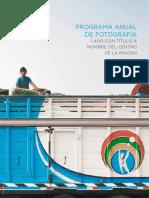 Programa anual de fotografia