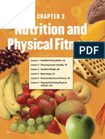 [Textbook] Ch. 3- Nutrition and Physical Fitness