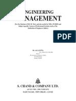 Engineering Management Gupta