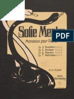 Sophie Menter Mazurka Para Piano Op.6