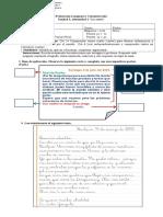 Evaluación de La Carta Tercero Basico
