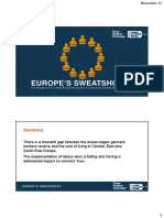 Europe sweatshop