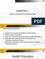 Chapter 1 - Health Education (1)