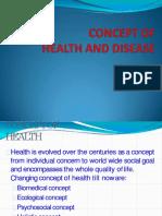 1-Conept of Healtha n Disease