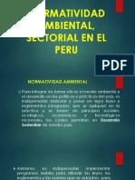 2. Normatividad Ambiental, Sectorial en El Peru