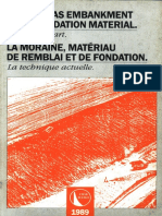B69 - Moraine as  embankment and foundation material