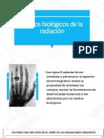4 Efectos Biológicos de La Radiación