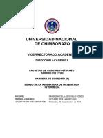 Matematica Intermedia A