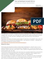 Blend de Carnes_ Aprenda a Fazer Um Hambúrguer Artesanal Delicioso _ Ana Maria Braga