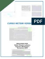 Ejercicio Segunda Parte METSIM v2.0 Año 2019